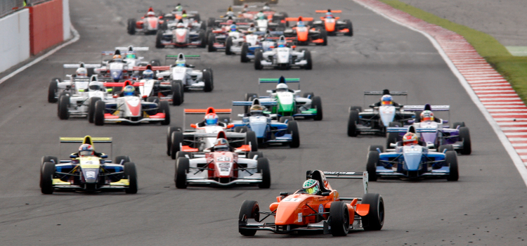 Formula Renault BARC Attracted Grids Of Over Thirty In 2012 - Credit: Jakob Ebrey Photography