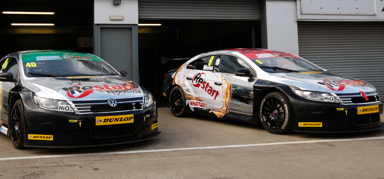 Team BMR Battled At The Front In BTCC With Aron Smith And Alain Menu - Credit: btcc.net