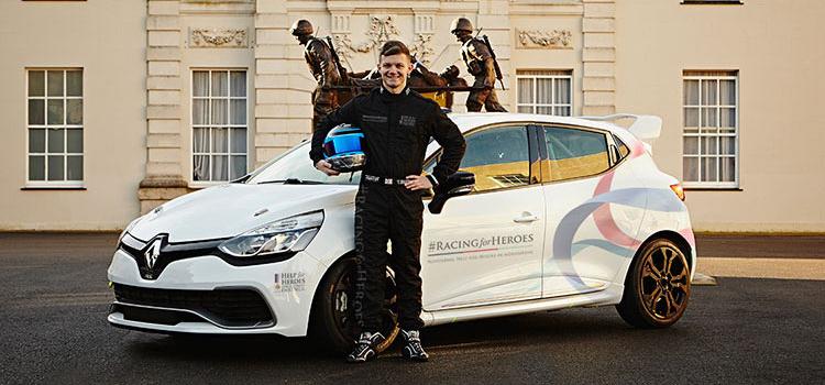 Butler Is ..... To Be Representing #RacingforHeroes - Credit: Jakob Ebrey Photography