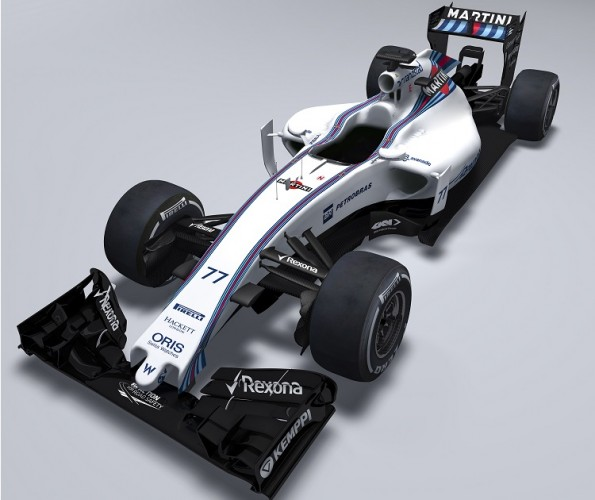 The first pictures of the Williams FW37 has been released (Credit: Williams F1 Team)