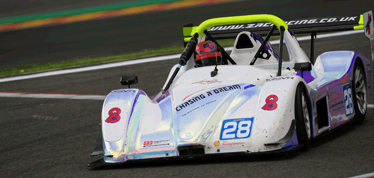 Chapman Enjoyed A Successful Spell In Radical Racing - Credit: zacracing.co.uk