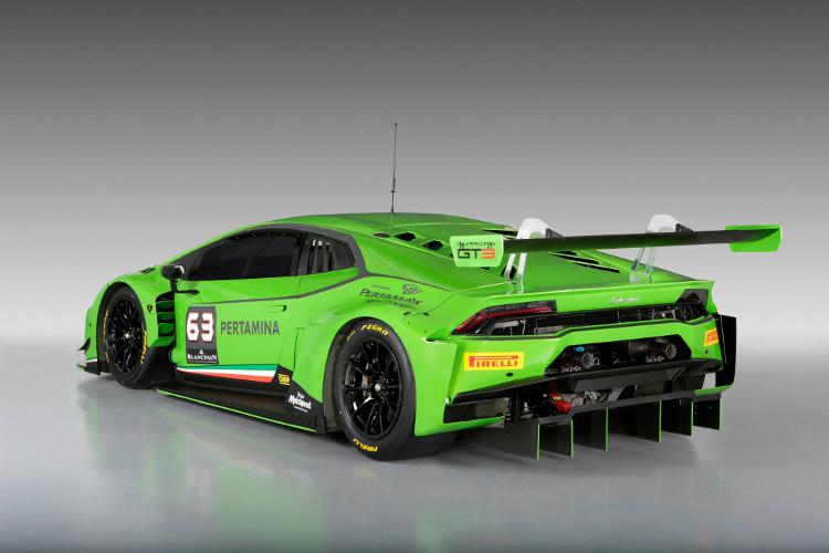 Lamborghini Huracan GT3 - Photo Credit: Lamborghini