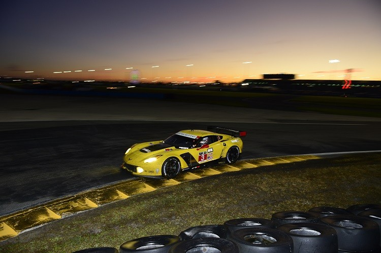 The #3 Corvette Racing entry won the GTLM class (Credit: Richard Dole/LAT Photo USA)
