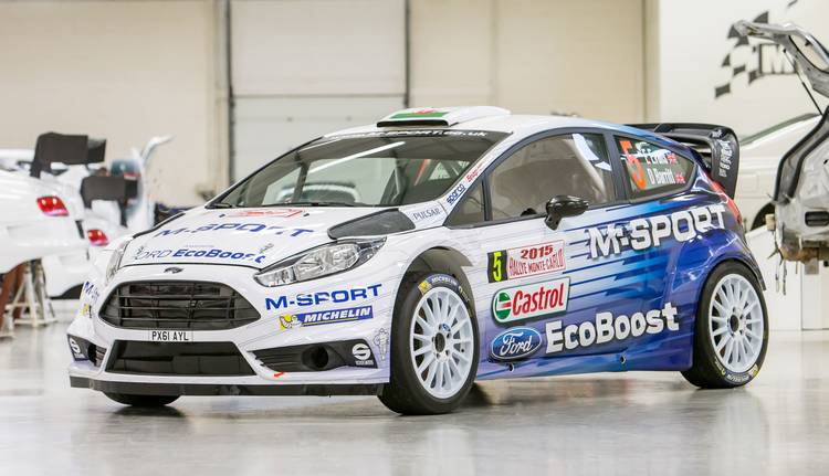 M-Sport's 2015 livery takes inspiration from past legends