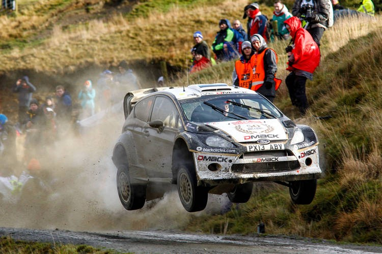 Tänak took seventh place in a Fiesta R5 WRC Wales GB Rally