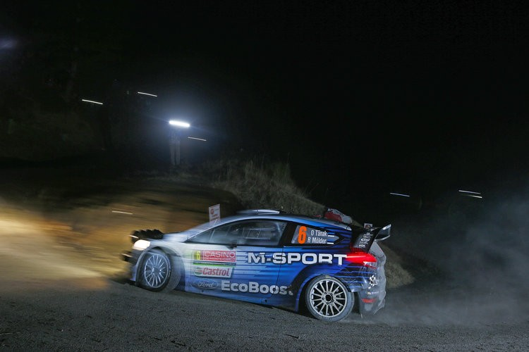Tanak was only out-paced by Loeb on the opening stage - Photo: M-Sport / McKlein