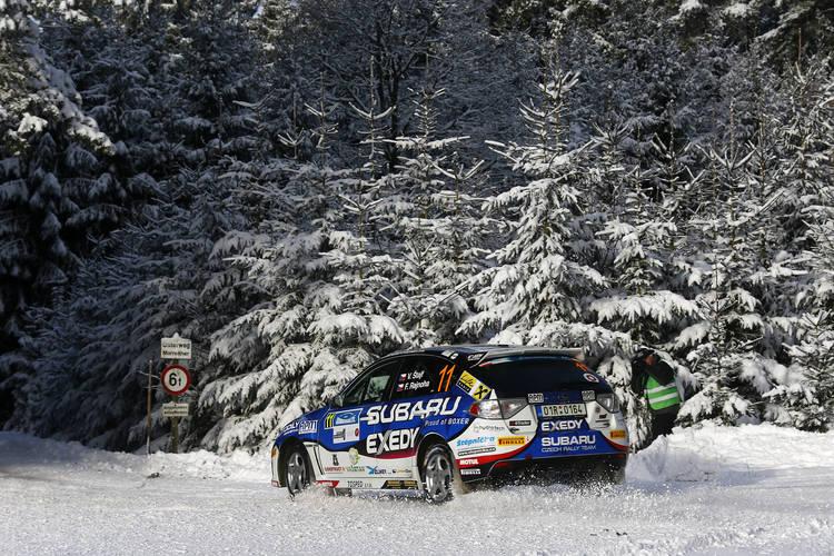 ERC2 class winners Vojtech Stajf and Frantisek Rajnoha - Photo Gregory Lenormand / DPPI
