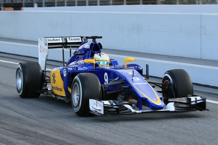 Marcus Ericsson completed the most laps on day 1, running 122 and finishing P2 for Sauber (Credit: Octane Photographic Ltd)