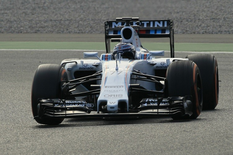 Valtteri Bottas ended day two with the second quickest time (Credit: Octane Photographic Ltd)