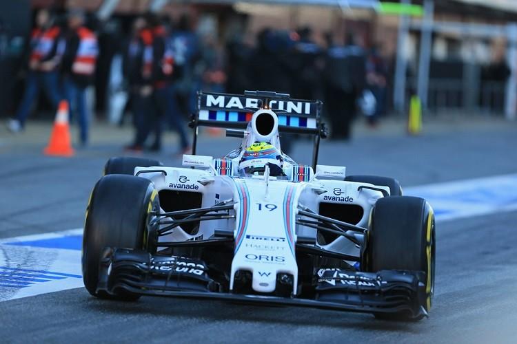 Felipe Massa was forced to settle for P2 behind Hamilton (Credit: Octane Photographic Ltd)