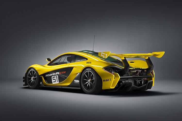 Another view of the McLaren P1 GTR (Credit: McLaren Automotive)