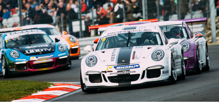 Cammish Starred On His Porsche Carrera Cup GB Debut - Credit: Malcolm Griffiths
