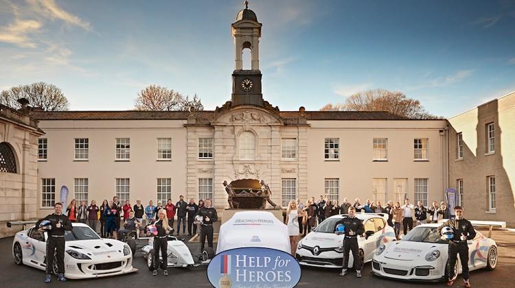 RacingforHeroes Group - Credit: Derek Seaward/#RacingforHeroes
