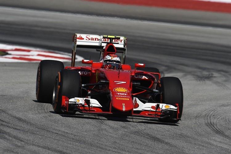 Kimi Raikkonen was second fastest in FP2 (Credit: Scuderia Ferrari Media)