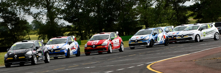 Many of the current Renault UK Clio Cup grid hold BTCC aspirations - Credit: Jakob Ebrey Photography