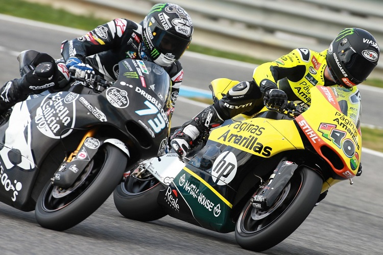 Marquez and Rins will fight it out for the honour of top rookie (Photo Credit: MotoGP.com)