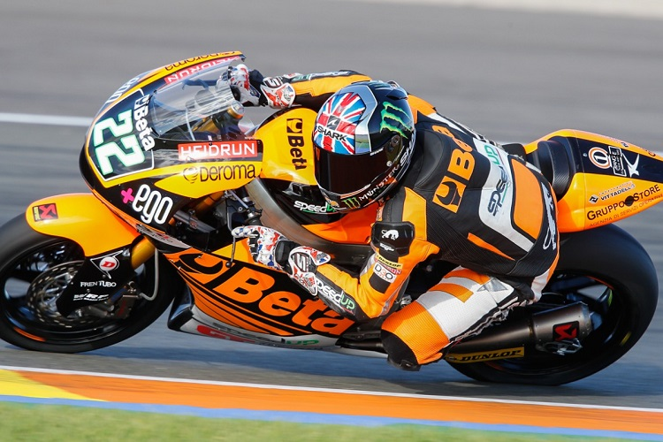 Sam Lowes will fly the British flag alone this season (Photo Credit: MotoGP.com)
