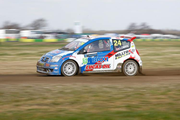 British Rallycross Championship 2015 - Round 1, 15th March