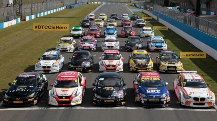 BTCC 2015 grid