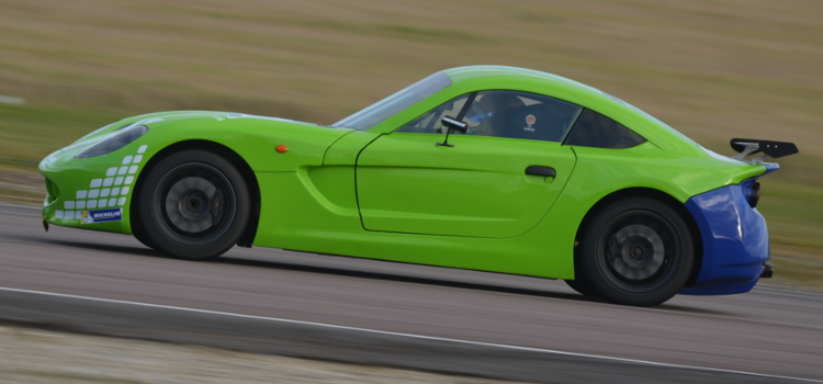Zelos Tested At Thruxton In February - Credit: Simon Paice Media