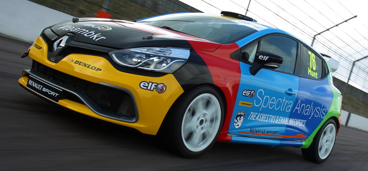 Hunt Brings Plenty Of Colour To The Clio Cup Grid - Credit: Jakob Ebrey Photography