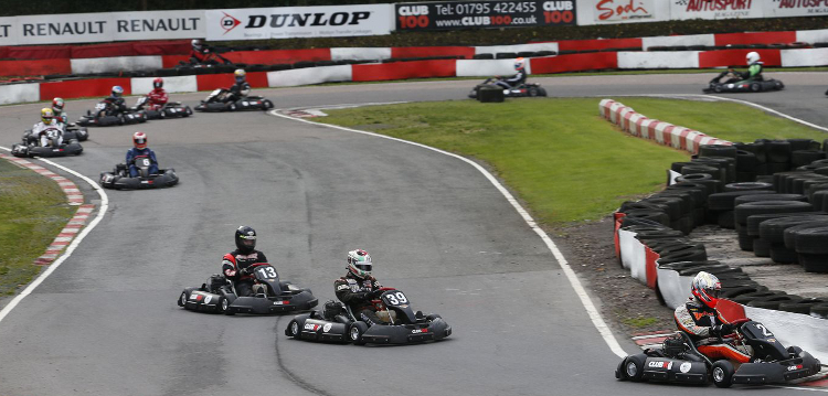 Coates, in Kart #39, enjoyed competing in the Henry Surtees Foundation Karting Challenge - Credit: Jakob Ebrey Photography
