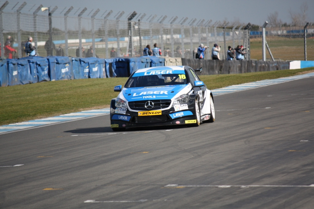Moffat and Mercedes shone in sleet and sunny conditions