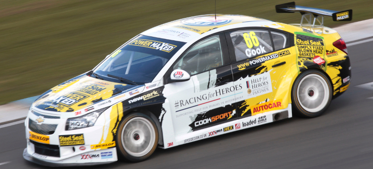 Cook Will Be Making His BTCC Debut This Weekend - Credit: btcc.net