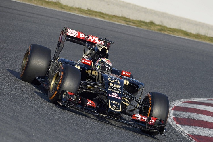 Lotus will be hopeful of a much improved 2015 (Credit: Pirelli Media)
