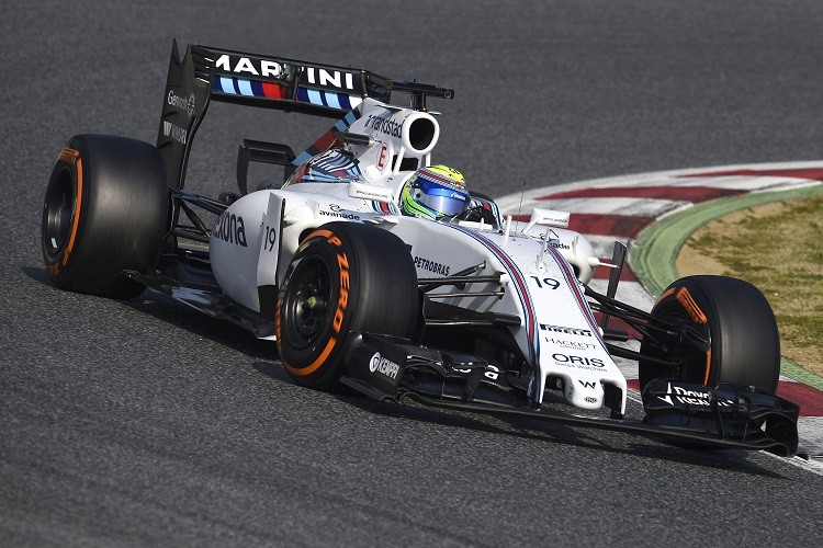 Felipe Massa will be looking for more podium finishes in 2015 (Credit: Pirelli Media)