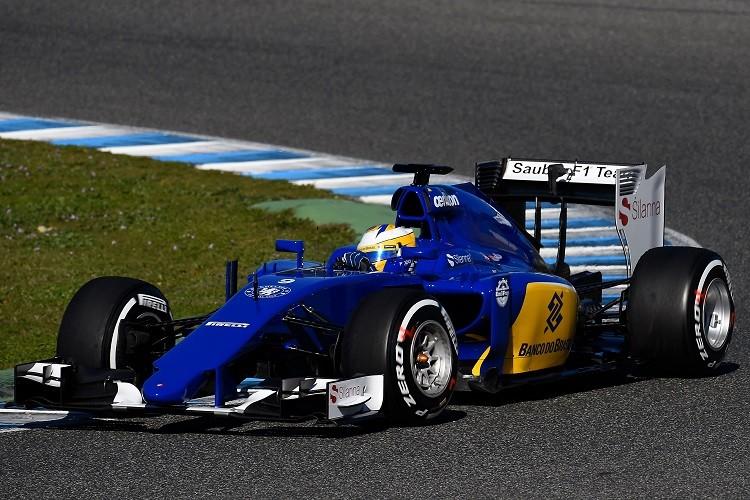 Marcus Ericsson moves from Caterham to Sauber in 2015 (Credit: Pirelli Media)