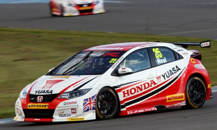 Racing Checkered Flag >> Honda Duo Excited By New Type-R Ahead Of BTCC Opener