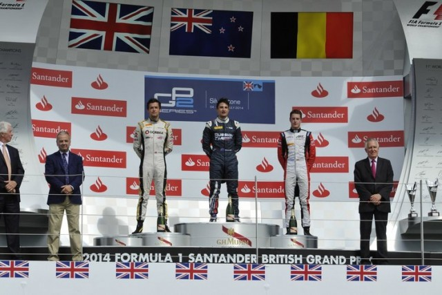 GP2 series Silverstone, England 04-06 July 2014