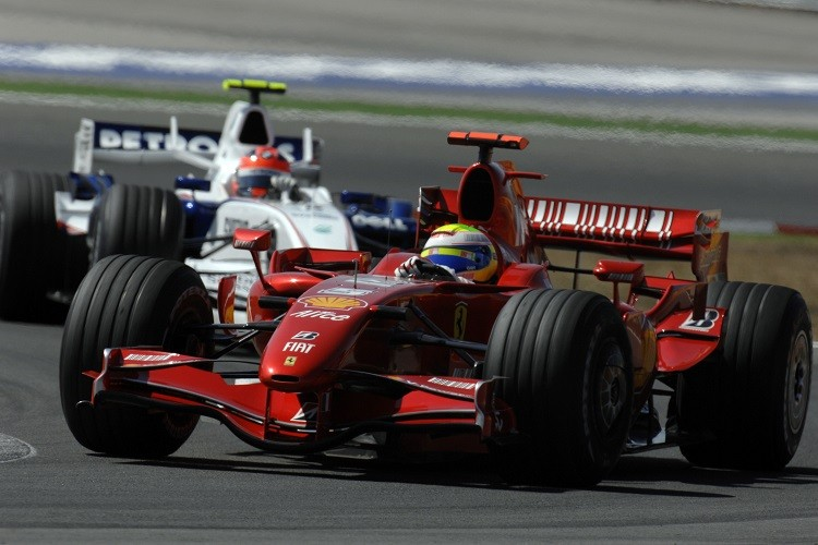 Felipe Massa won three times at Istanbul Park (Credit: Scuderia Ferrari Media)