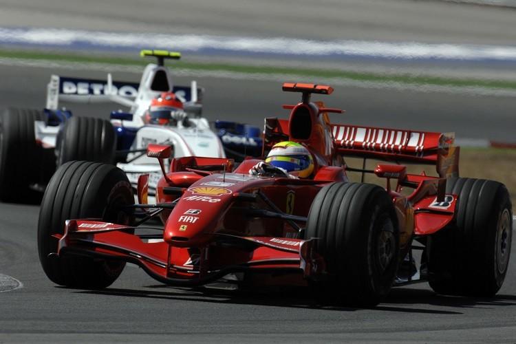 Felipe Massa won three times at Istanbul Park (Credit: Scuderia Ferrari Media)