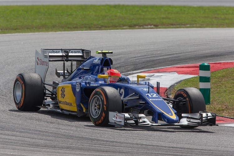Felipe Nasr missed out on points in Malaysia (Credit: Sauber Motorsport AG)
