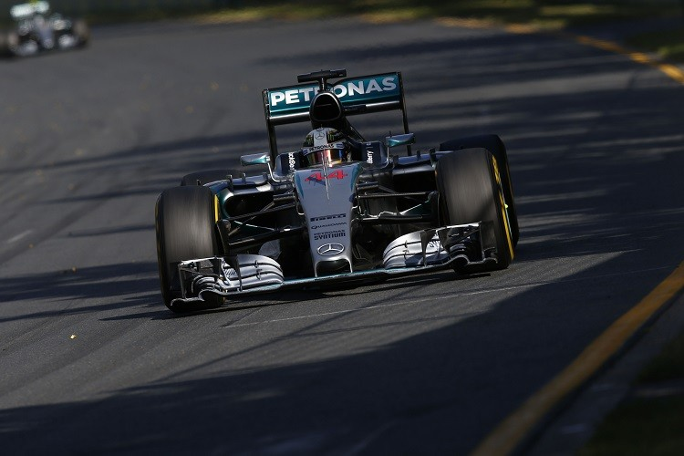 Lewis Hamilton was untouchable during the Australian GP (Credit: Mercedes AMG PETRONAS Formula One Team)