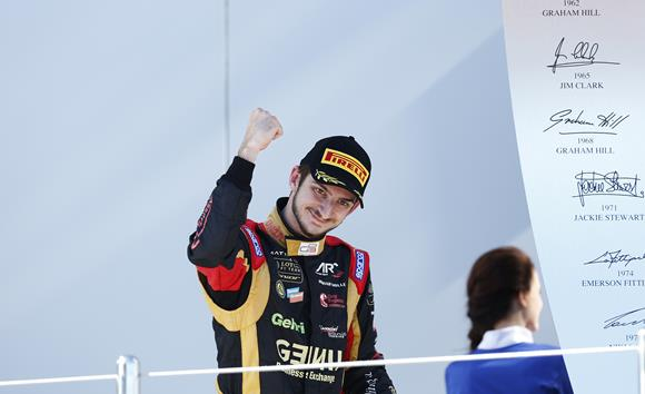 Expect to see Alex gracing many a podium in 2015. (Credit: GP3 Series)