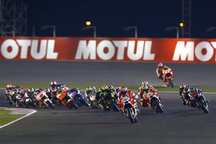 The moment Marquez's hopes of a winning start to 2015 turned to dust (Photo Credit: Repsol Honda)