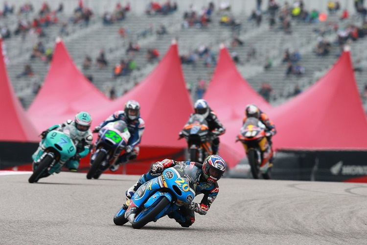 He may still only be 15 but Quartararo is already showing them the way (Photo Credit: MotoGP.com)