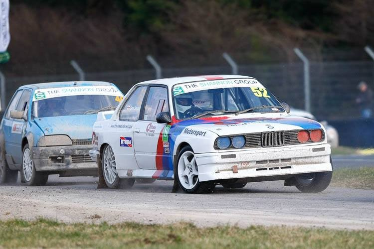 Gary Simpson leads the Super National class