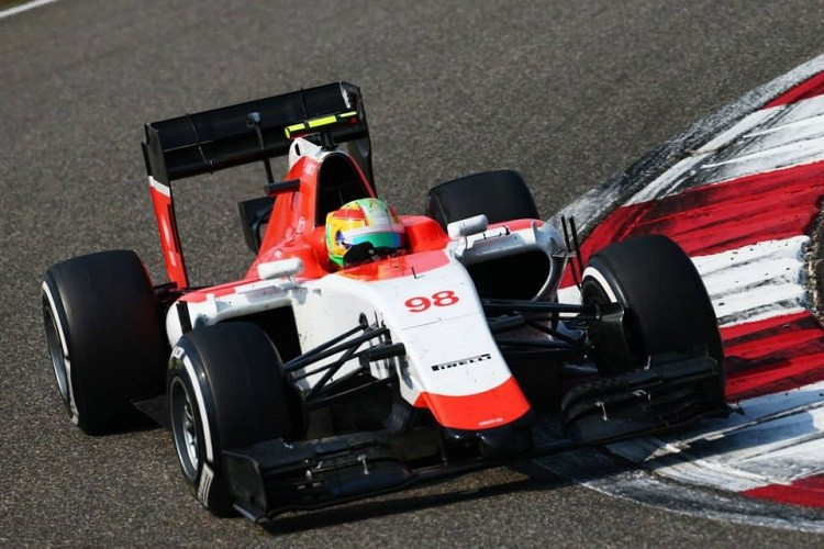 Roberto Merhi remains with a 100% finishing record in Formula 1 (Credit: Manor F1 Team)
