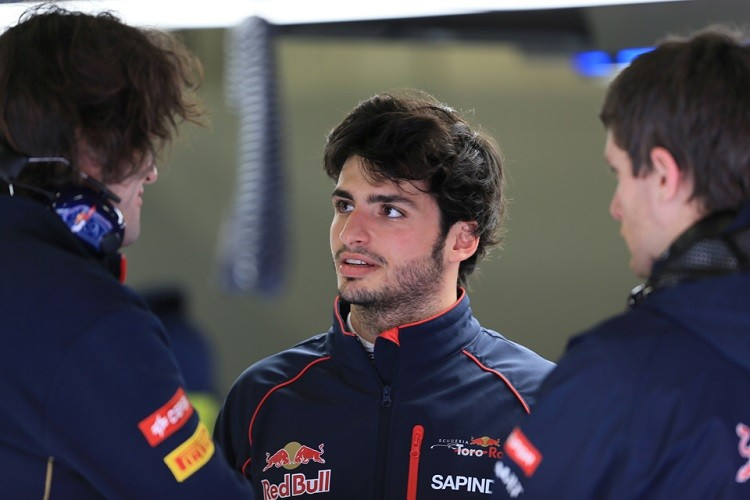 Carlos Sainz Jr had a great qualifying in Bahrain (Credit: Octane Photographic Ltd)