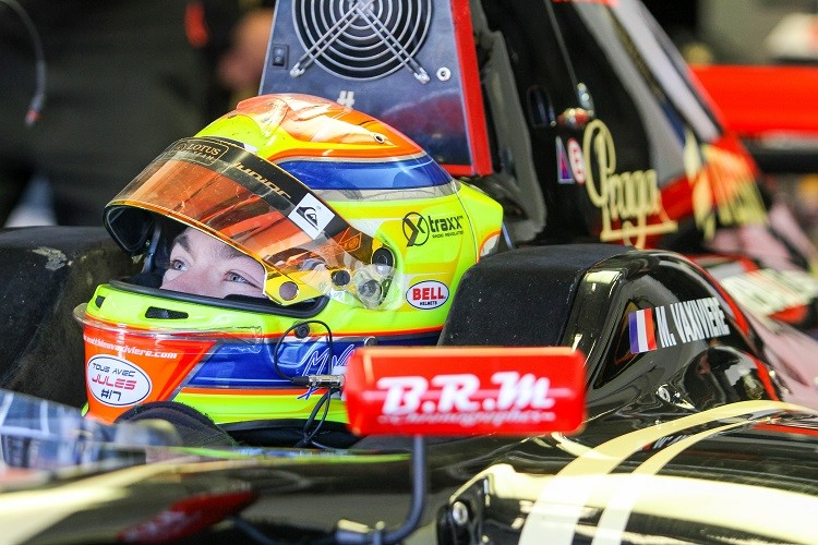 Matthieu Vaxiviere remains with Lotus for 2015 (Credit: Alvaro Rivero / DPPI)