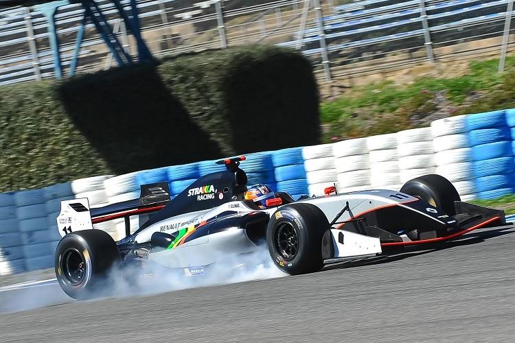 Tio Ellinas has joined Strakka Racing in 2015 (Credit: Alvaro Rivero / DPPI)
