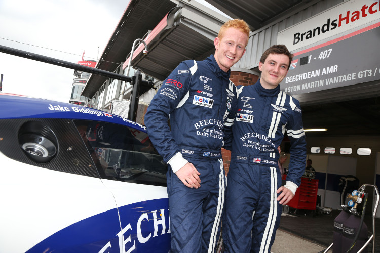 Wylie and Giddings won the GT4 class together in 2014, but will face the series seperately this year (Credit: Jakob Ebrey Photography)