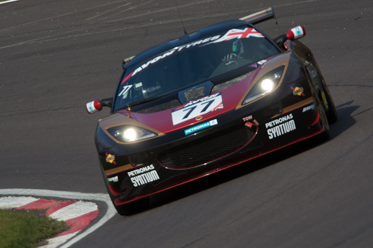 Oz Yusuf made the most of his Lotus to claim GT4 pole for race one (Credit: Nick Smith/The Image Team