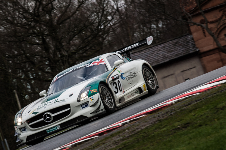 RAM Racing Mercedes British GT (Nick Smith)