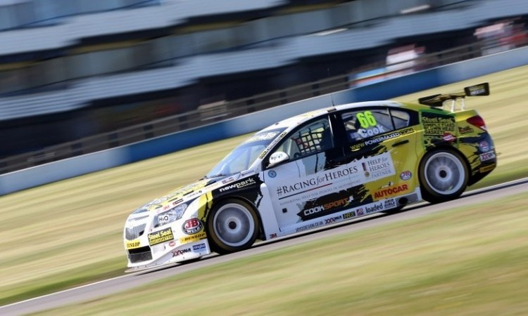 Cook Donington BTCC 2015 race 2