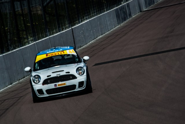 Lohen Racing's MINI Cooper ran well until a mid race retirement.